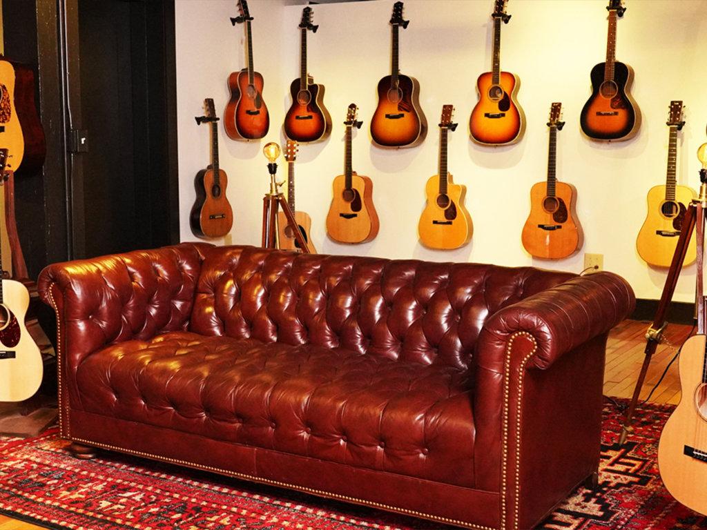 The North American Guitar Nashville Showroom.