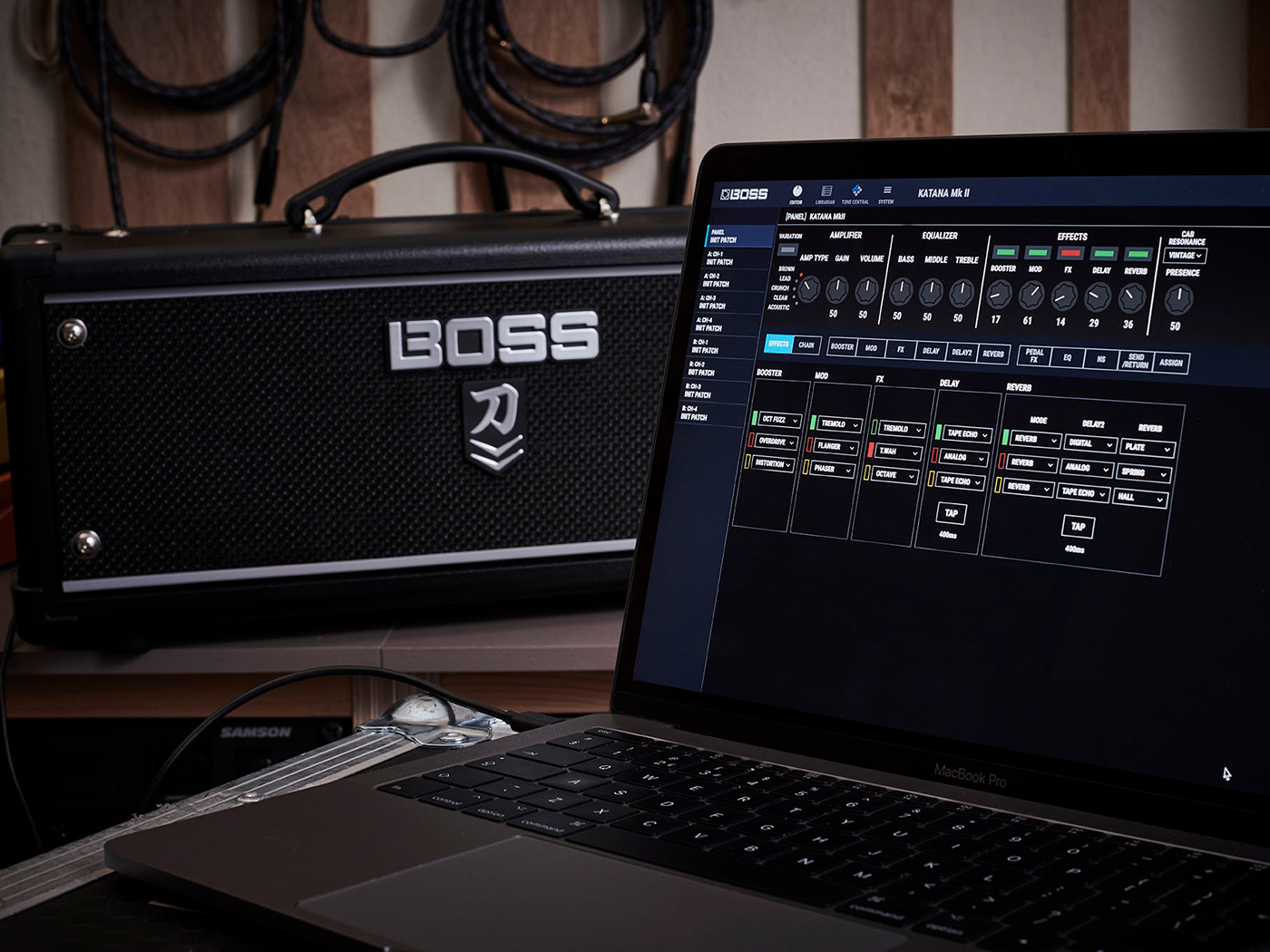 The Boss Katana Mk II Tone Studio