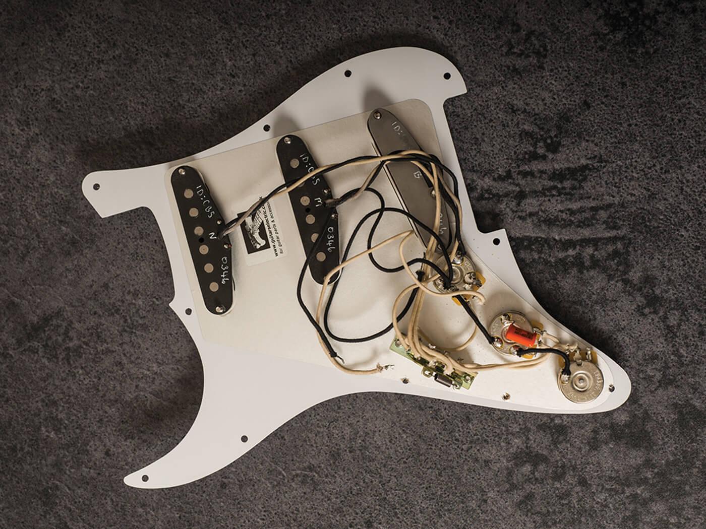 radioshop chris buck stratocaster pickups