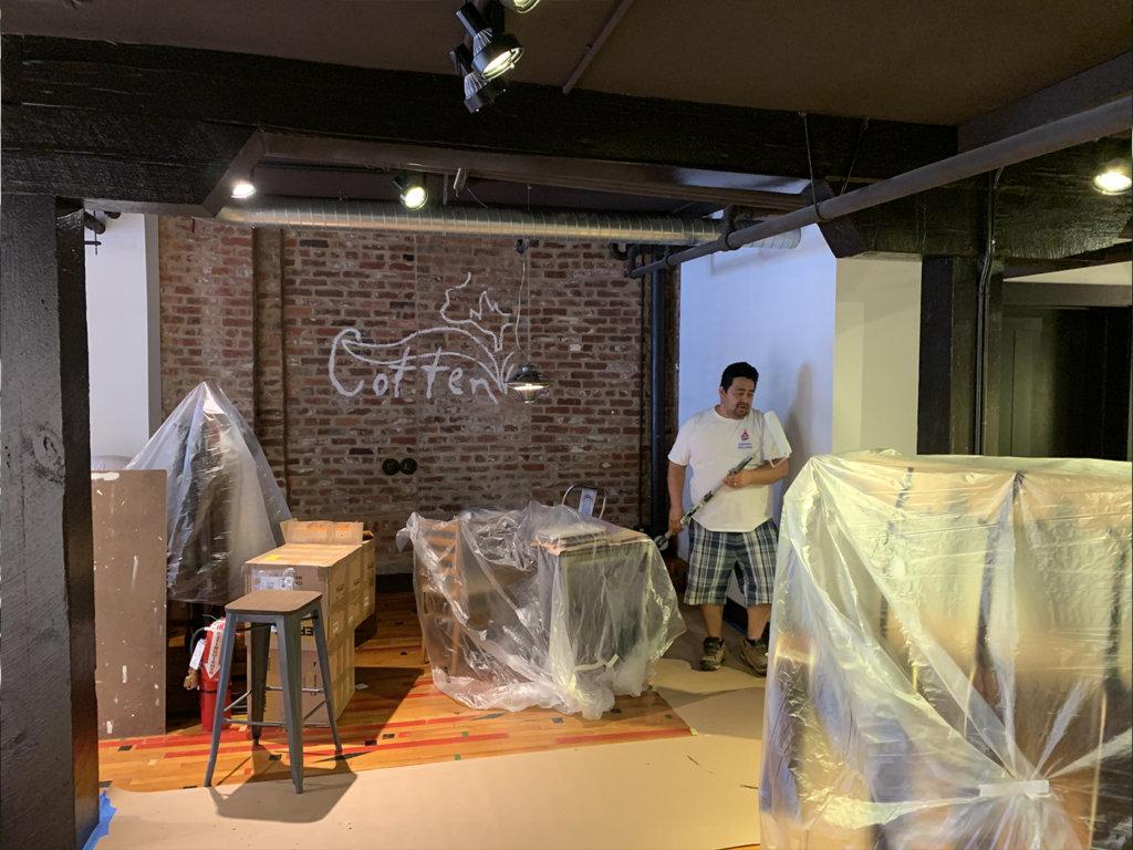 Cotten Music Center gets refurbished.