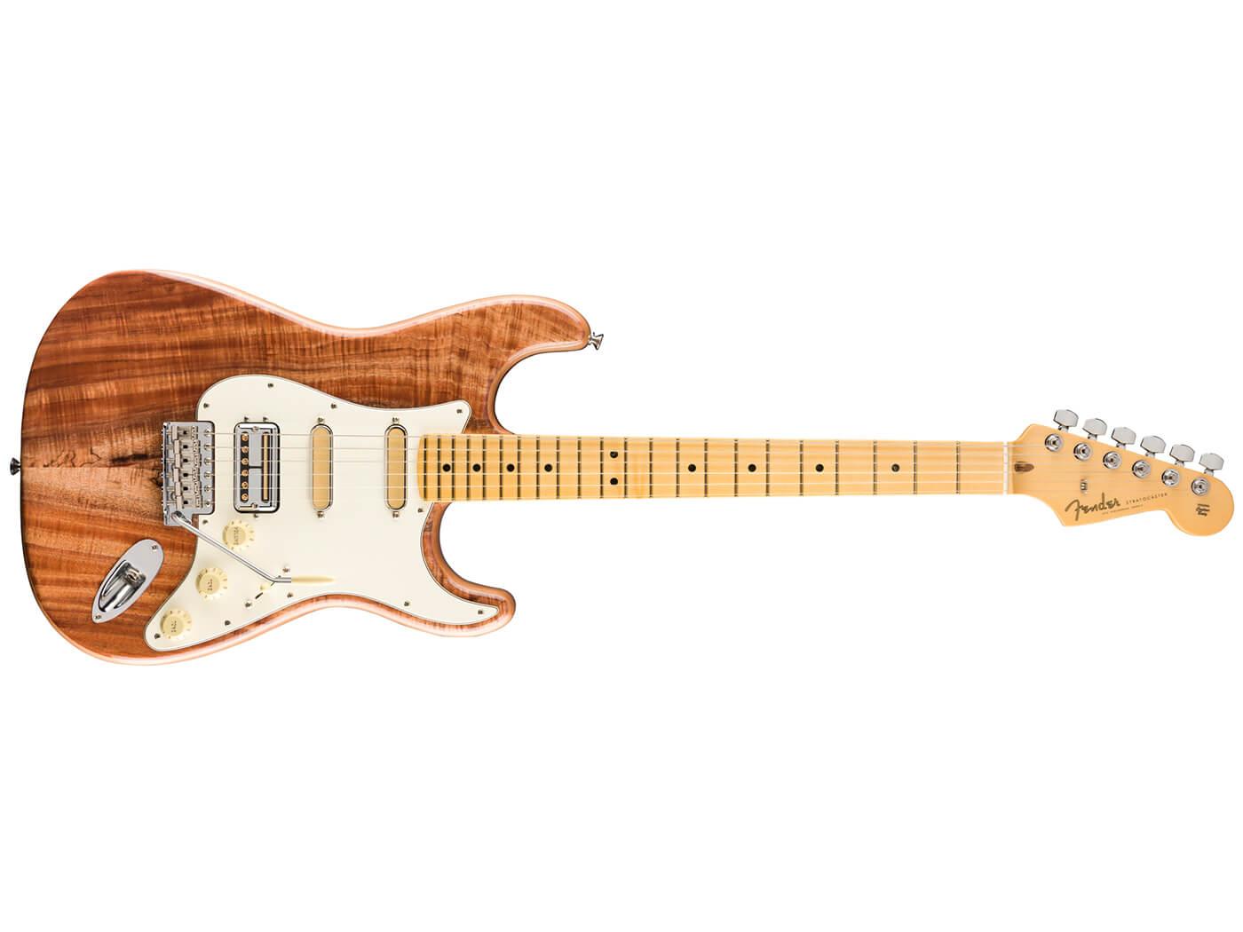 The Fender Koa Top Stratocaster