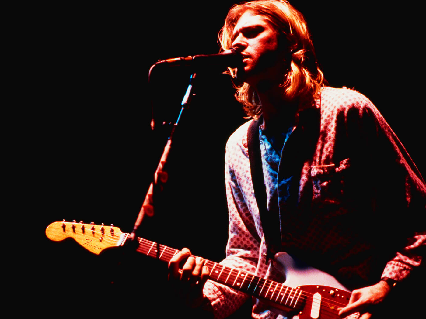 kurt cobain s fender mustang to be put up for auction all things guitar. Black Bedroom Furniture Sets. Home Design Ideas