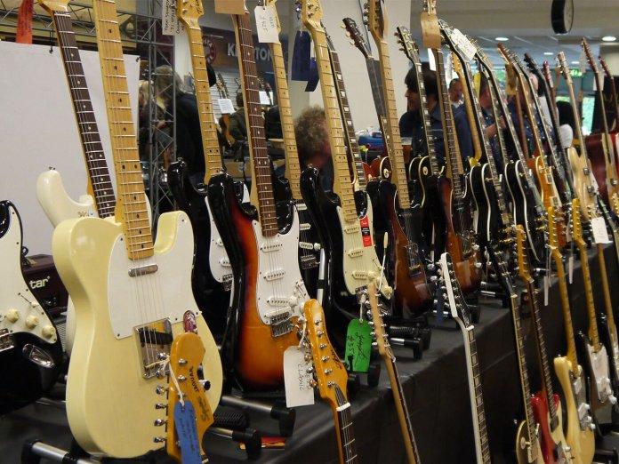 The London International Guitar Show.