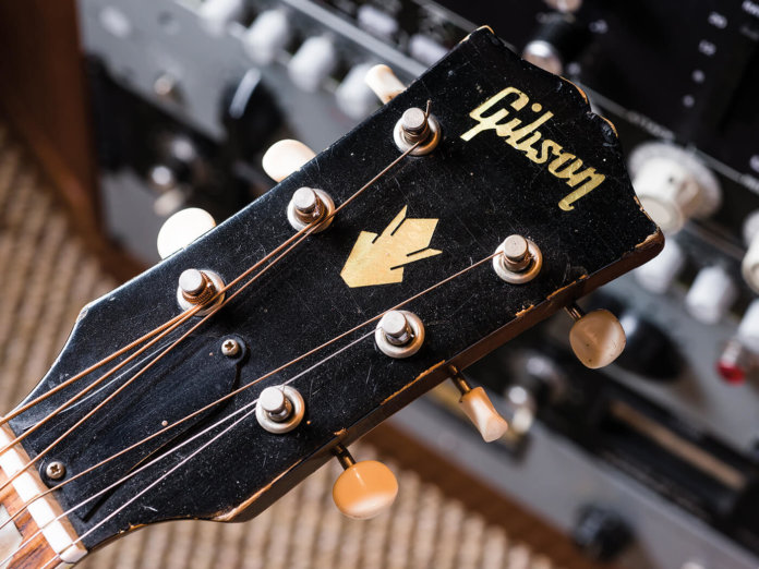 1964 Gibson Country Western (Headstock)