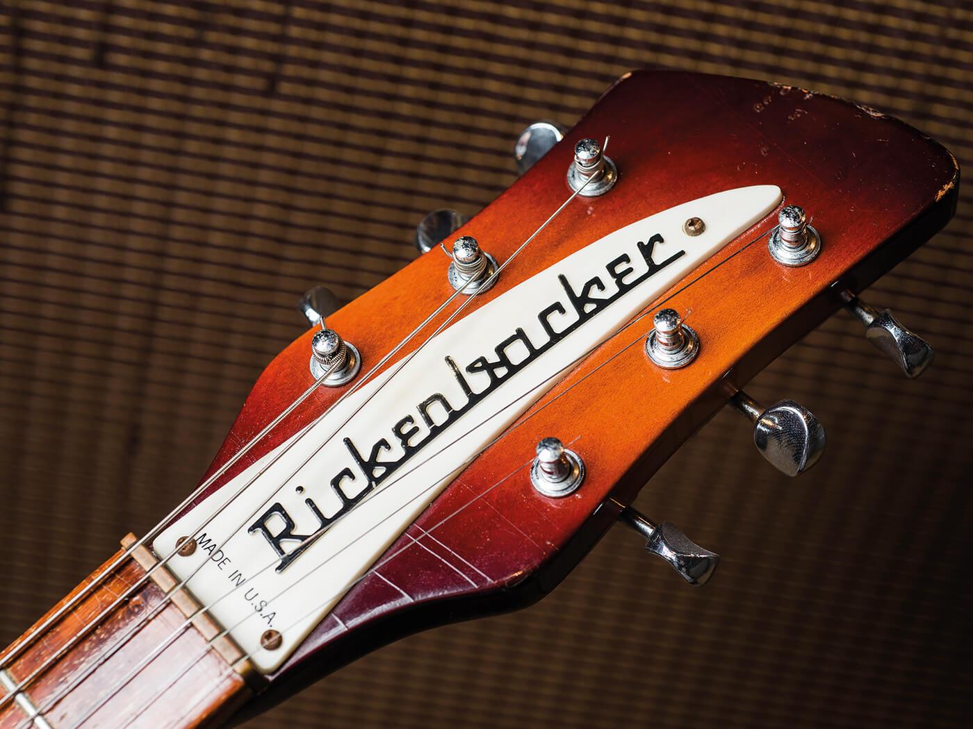 Fireglo 1982 Rickenbacker 450 (Headstock)