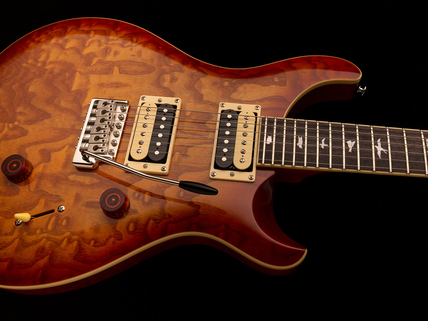 The PRS SE Custom 24 Burled Ash