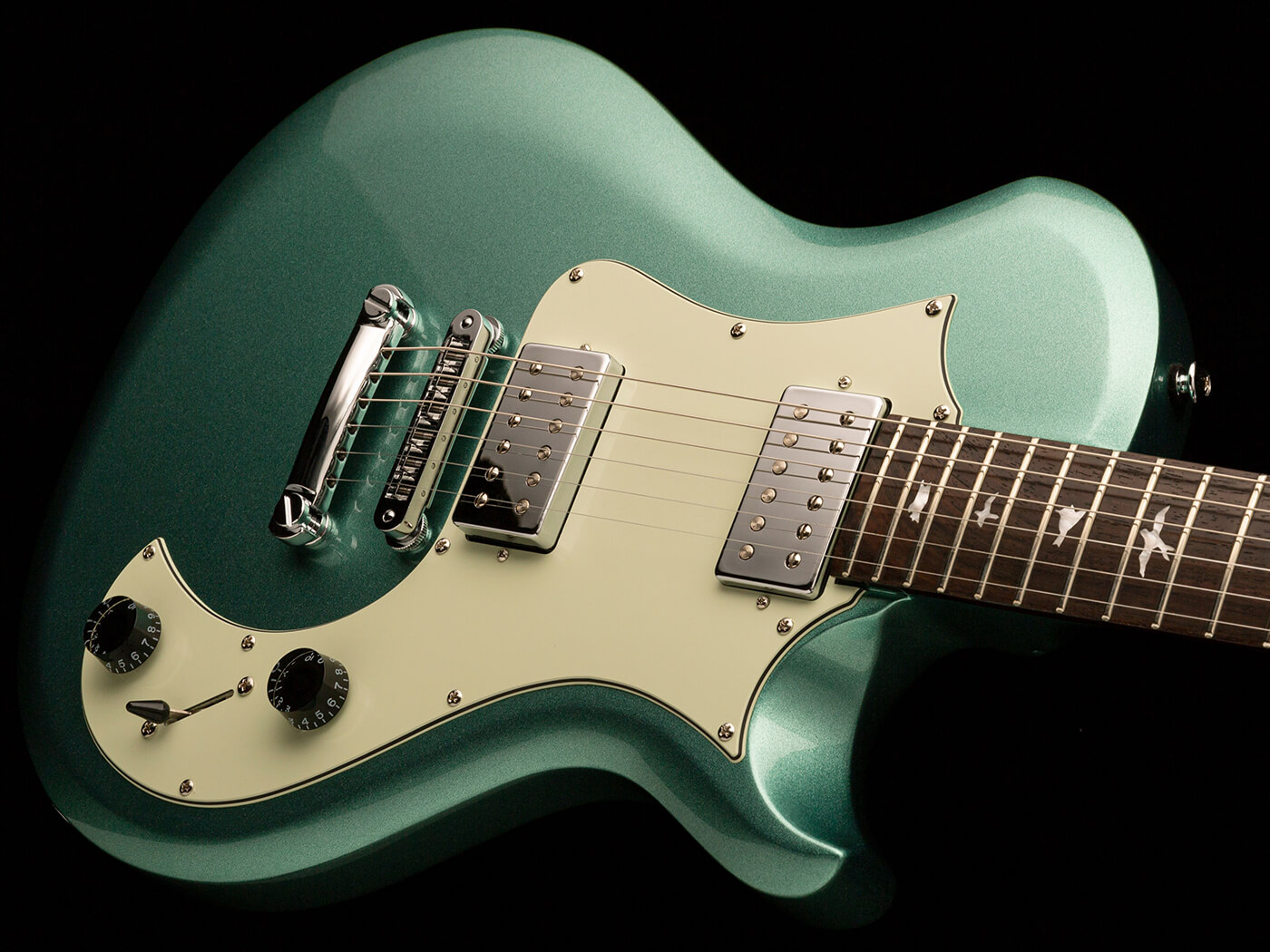 The PRS Starla in Frost Green Metallic