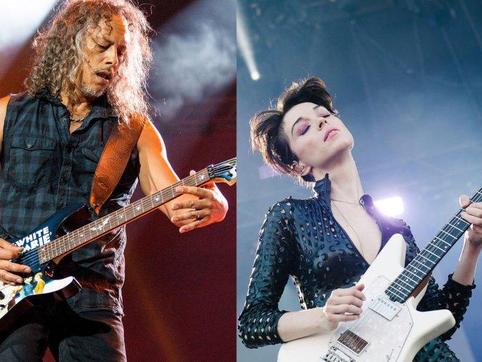 St Vincent and Kirk Hammett