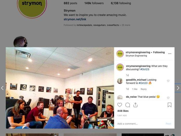 Strymon's Instagram Tease