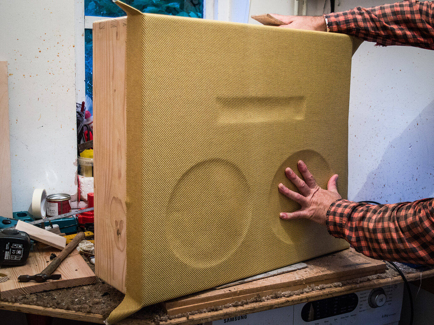 DIY Workshop: How to build a speaker cabinet (Part Two)