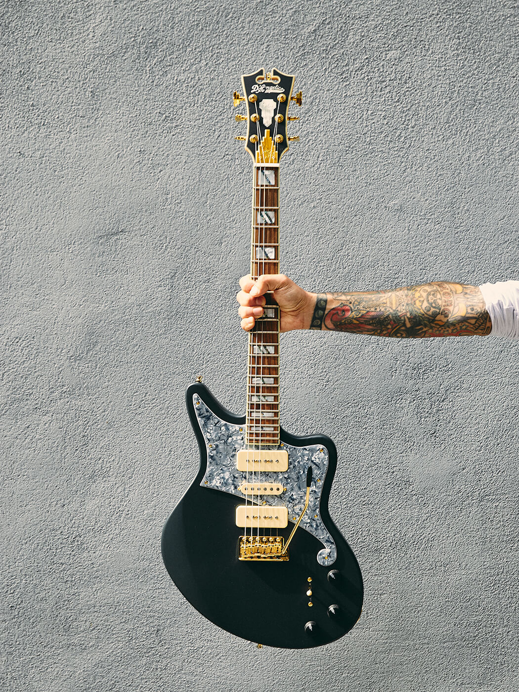 D'Angelico Deluxe Bob Weir Bedford Signature