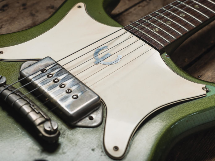Rory Gallagher 1963 Epiphone Coronet (Body Detail)