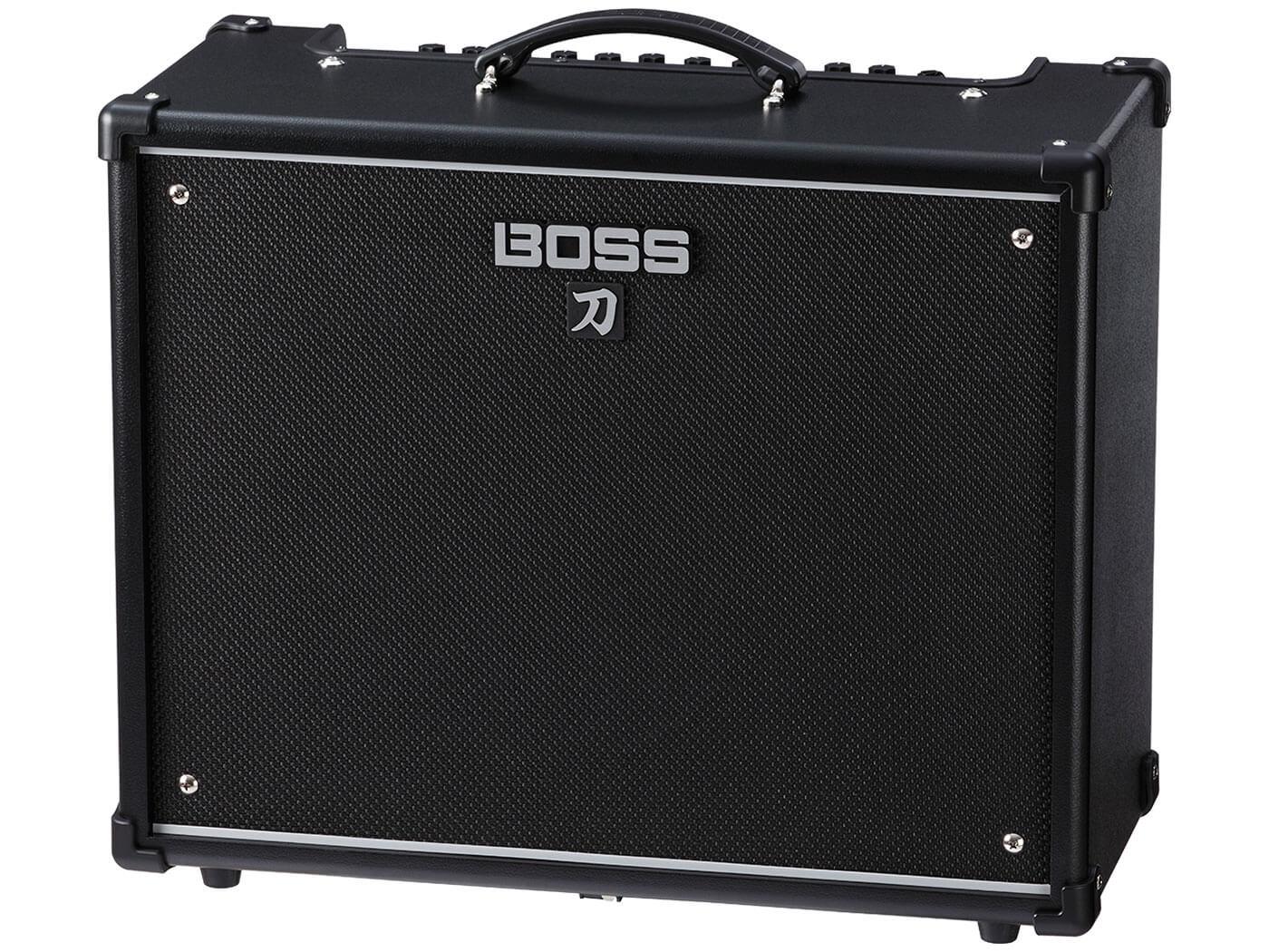 Boss Katana 100 electric guitar amplifier.