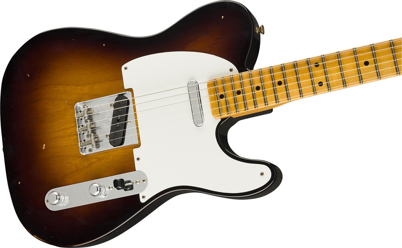Fender Custom Shop Time Machine 1956 Telecaster in Sunburst.