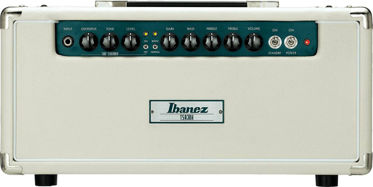 Ibanez TSA30H 30W electric guitar tube amplifier.