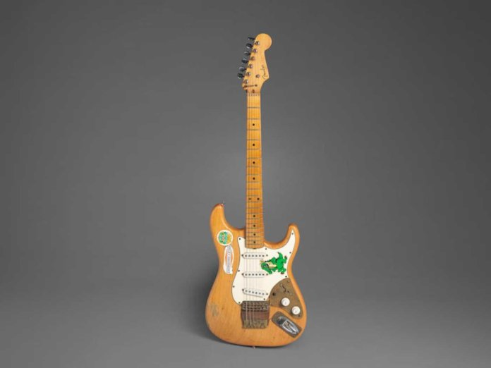 Jerry Garcia's Alligator Stratocaster.