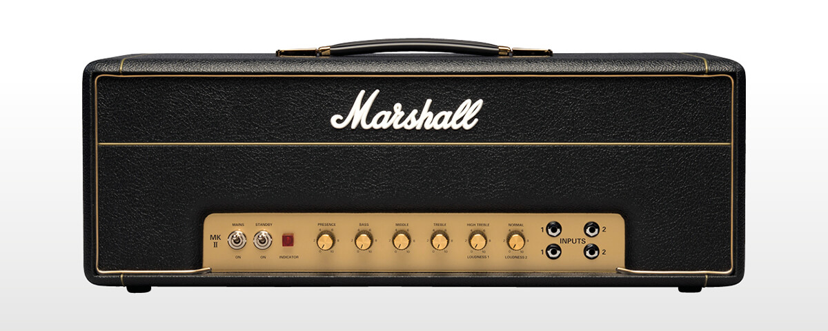 Marshall 1987x electric guitar tube amplifier.