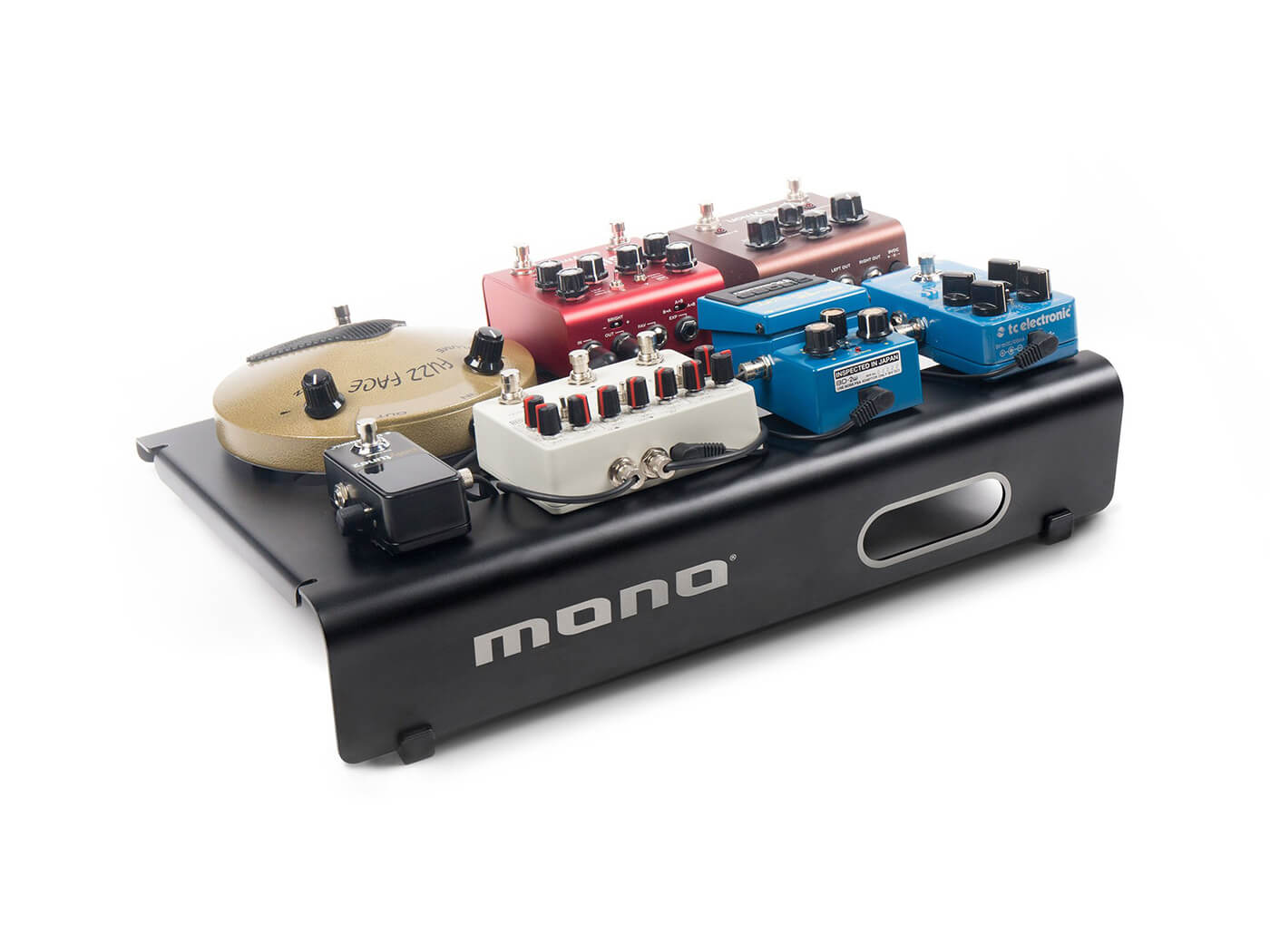 Mono Pedalboard Small effects pedal mounting platform.