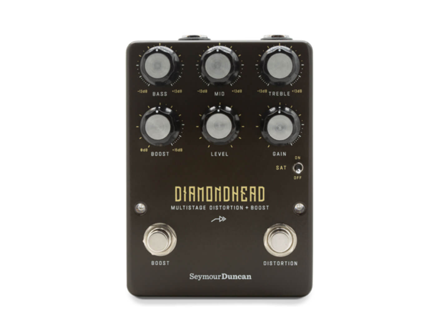 Seymour Duncan launches the Diamondhead, a multistage distortion pedal - Guitar.com