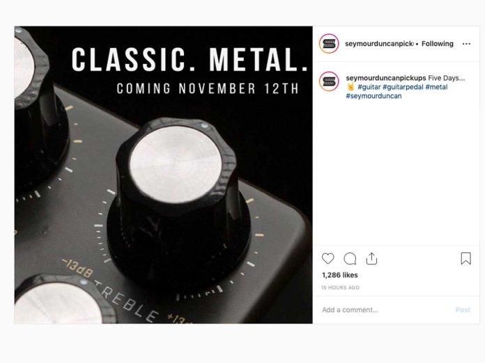 Seymour Duncan's Instagram