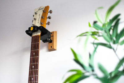 EJY Simple Wall Mount Guitar Hangers Stands Guitar Display Bracket Holder Black Hook Metal Holder Hangers