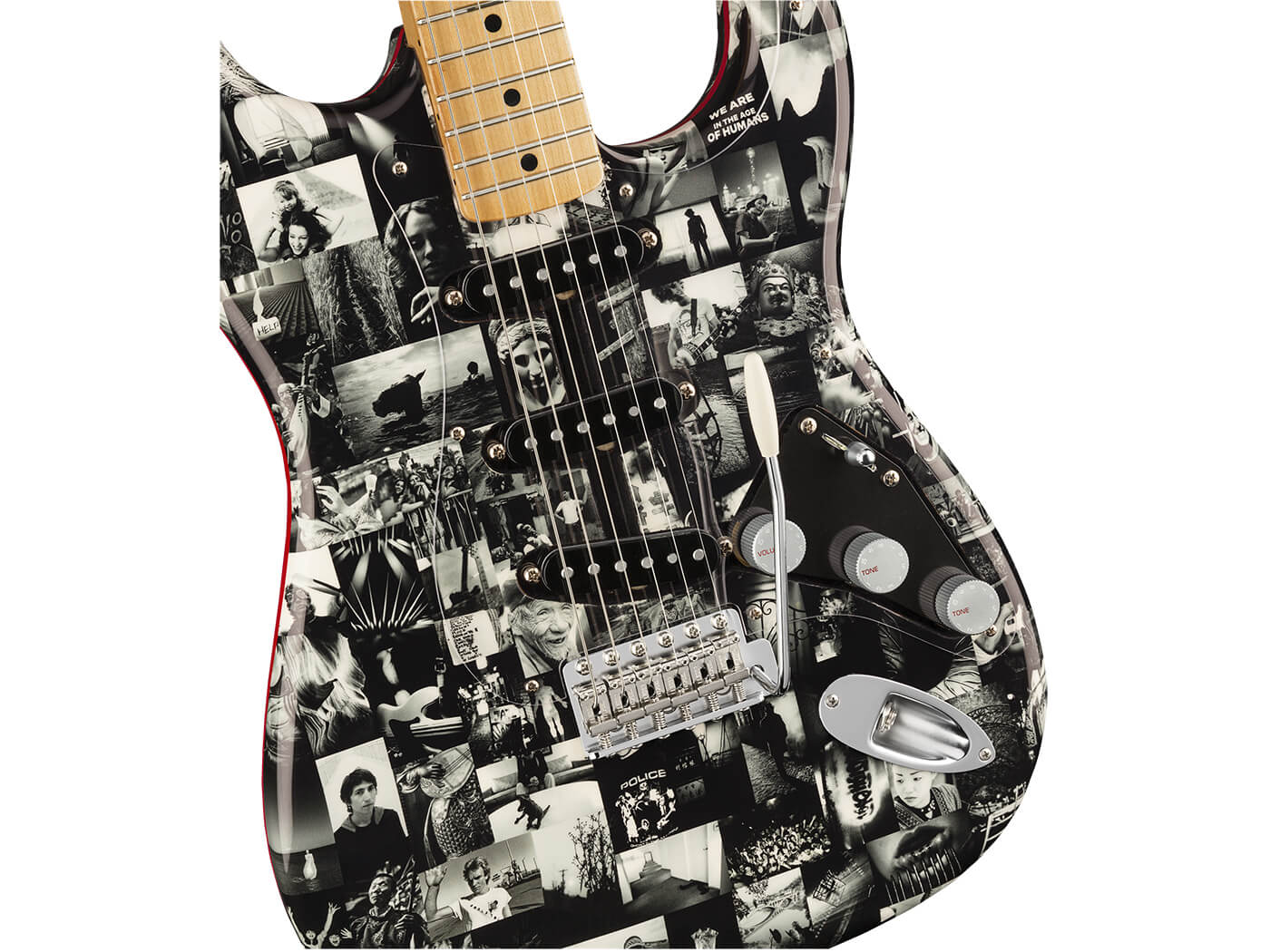 Andy Summers Monochrome Stratocaster