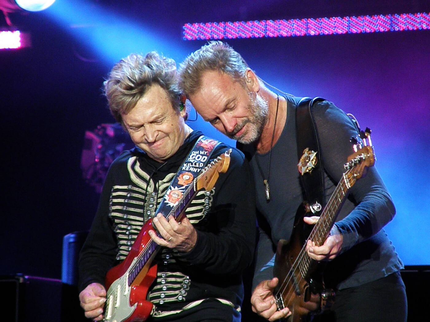 Andy Summers and Sting