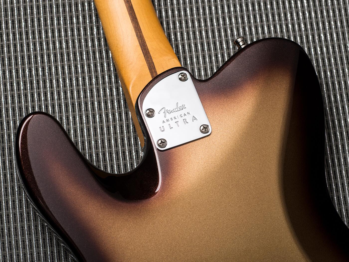 Fender American Ultra Telecaster (Back)