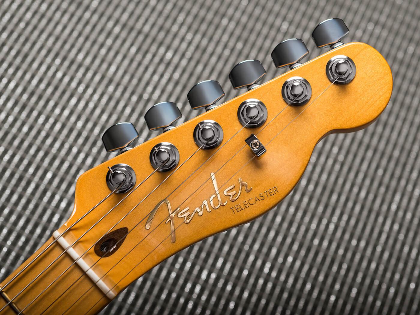 Fender American Ultra Telecaster (Headstock)