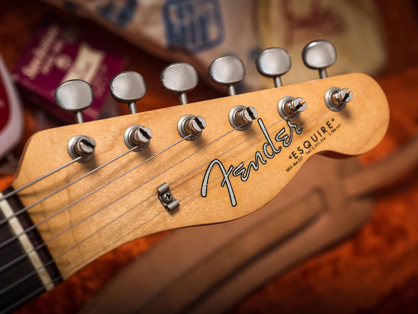 1963 Fender Esquire (Headstock)
