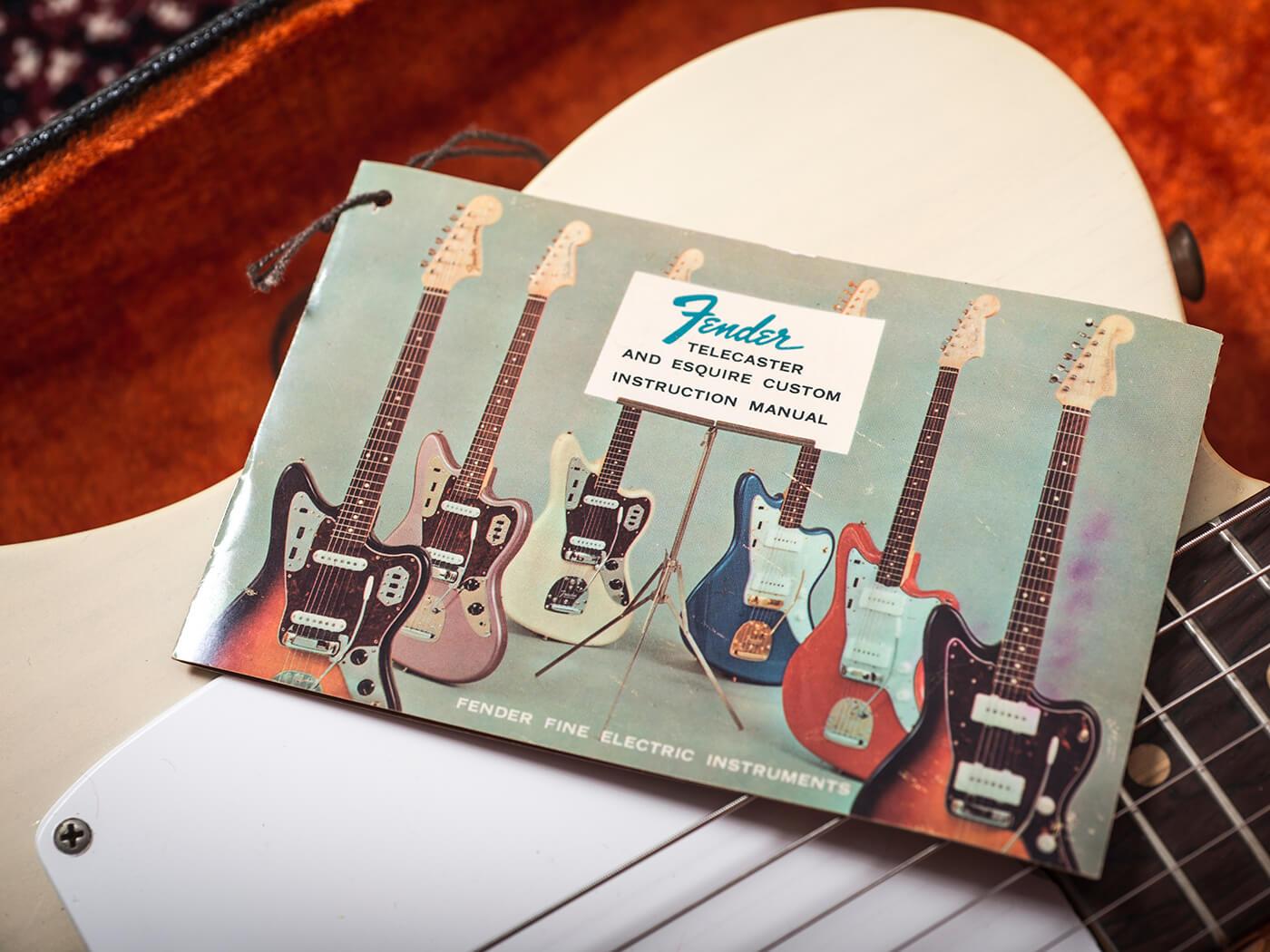 1963 Fender Esquire (Manual)