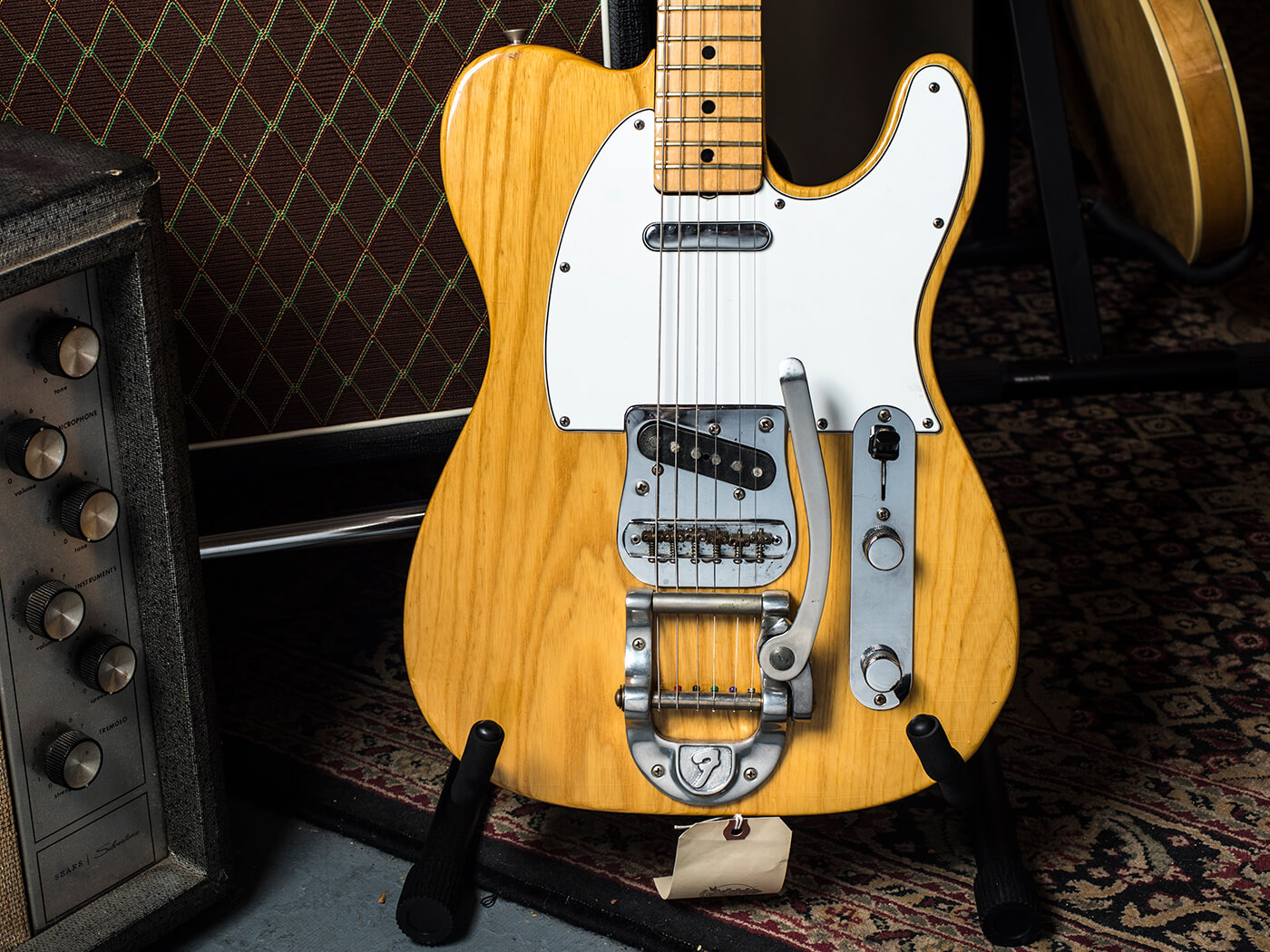 Imperial Vintage '74 Fender Telecaster with original 'F' Bigsby