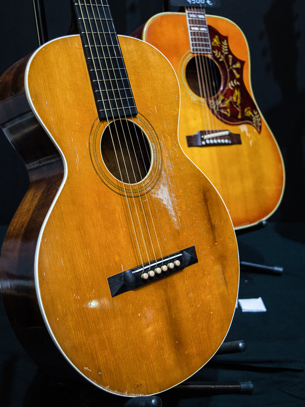 Gibson Acoustic and 1926 Hummingbird