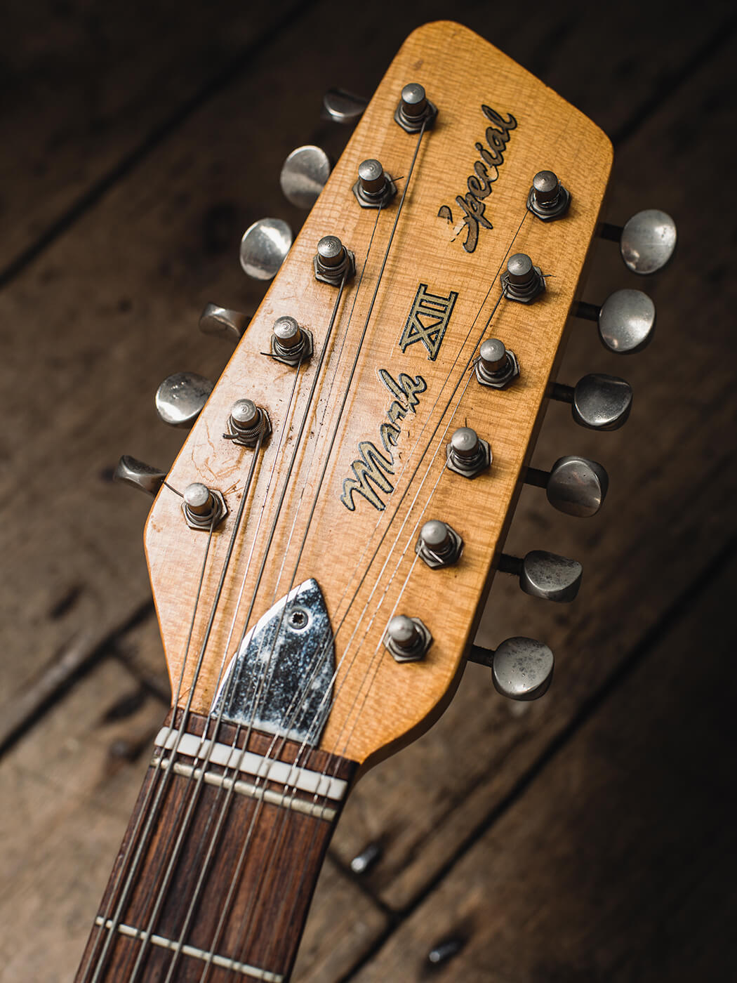 Rory Gallagher Vox Mark XII Special (Headstock)