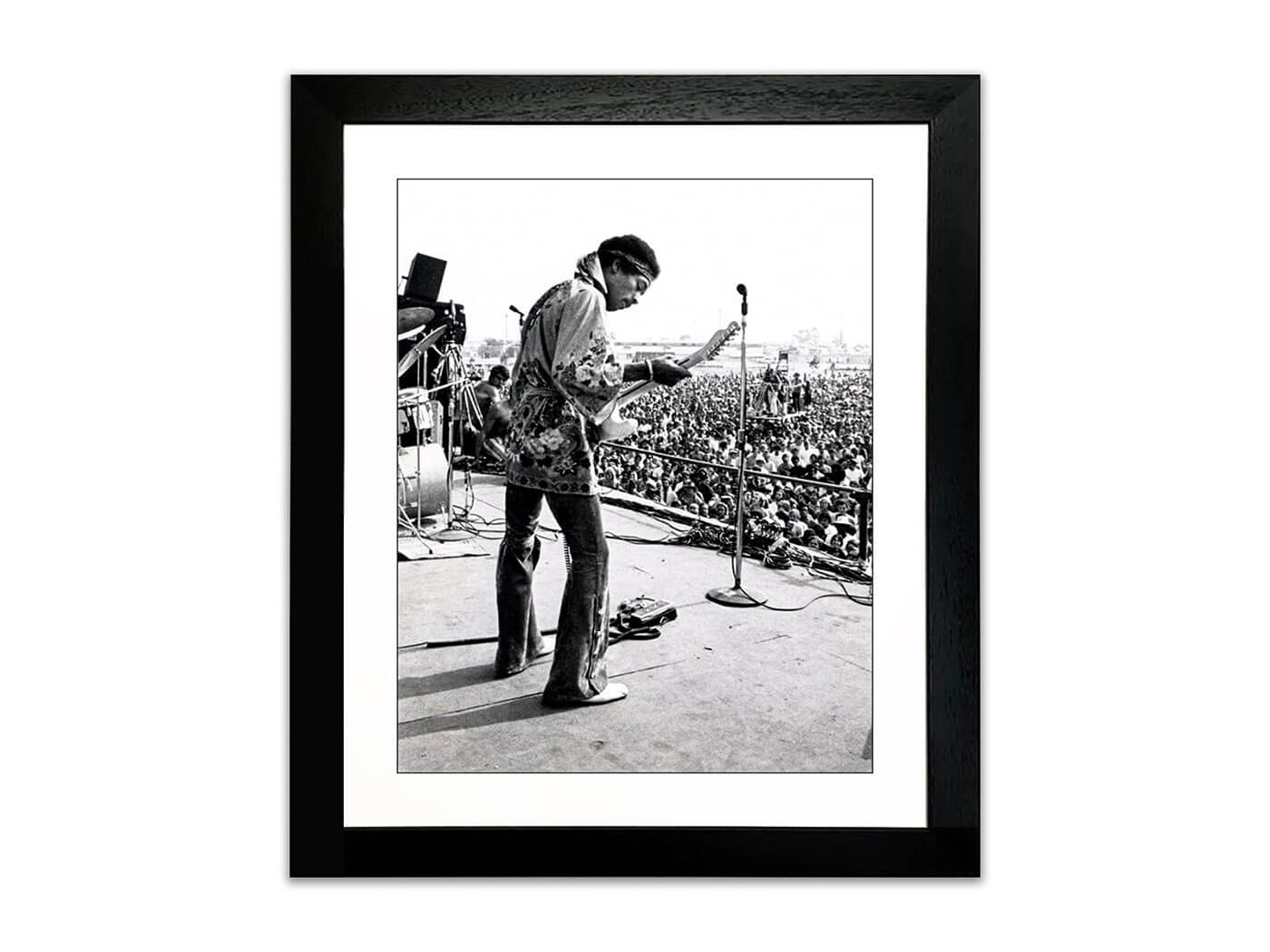 Drop Top Images' framed Jimi Hendrix Print