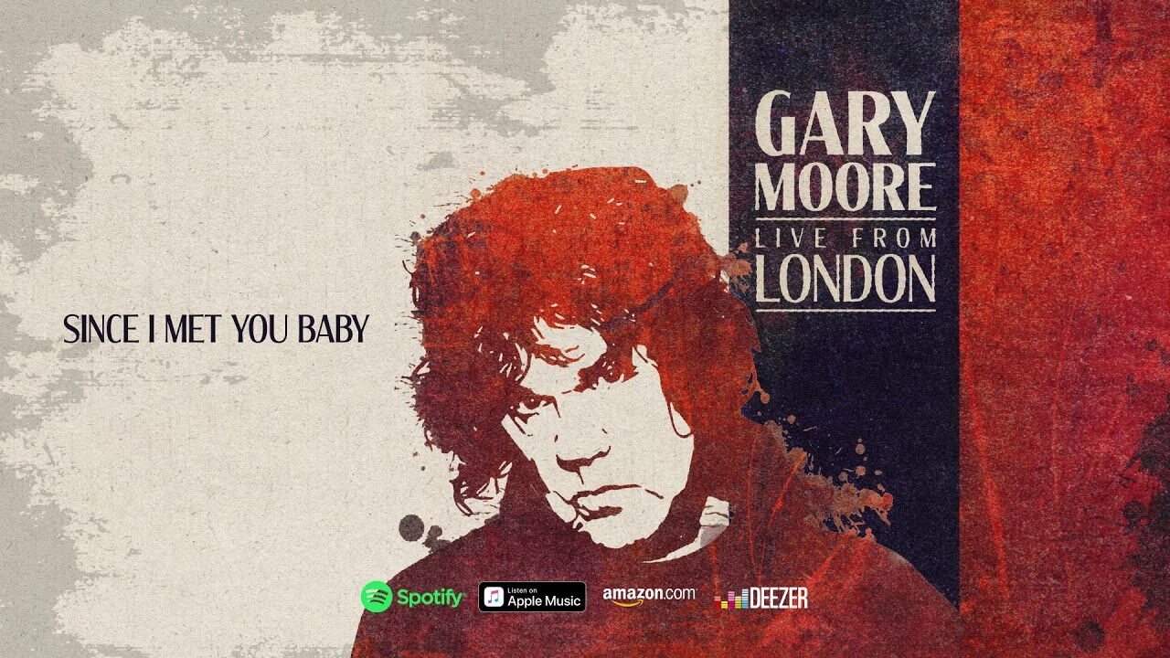 Listen to Gary Moore play Since I Met You Baby, taken from Live From London - Guitar.com   All Things Guitar