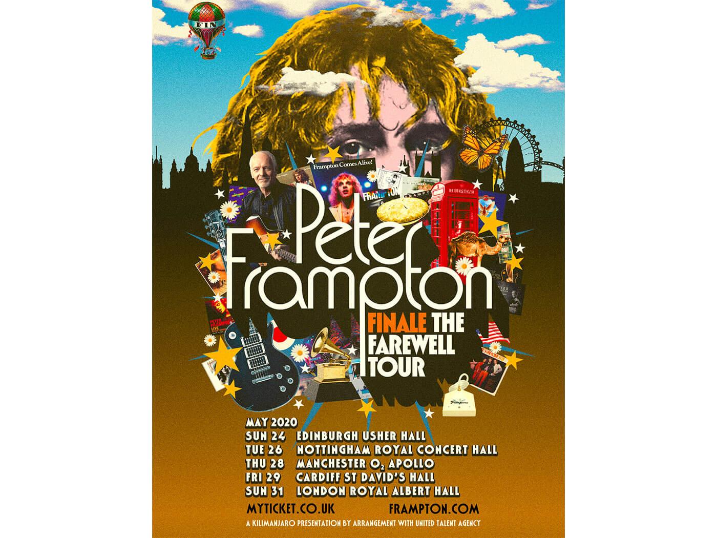 The Tour Poster for Peter Frampton's Farewell Tour