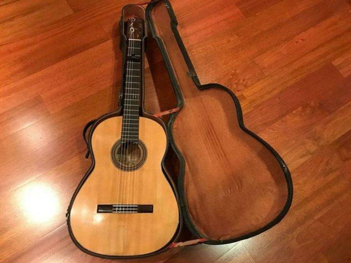 Andrés Segovia's Ramirez guitar