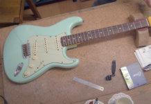 Guitar DIY Stratocaster Set Up
