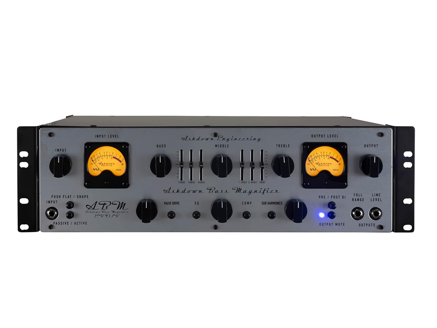 Ashdown ABM EVO IV Dual VU Rack