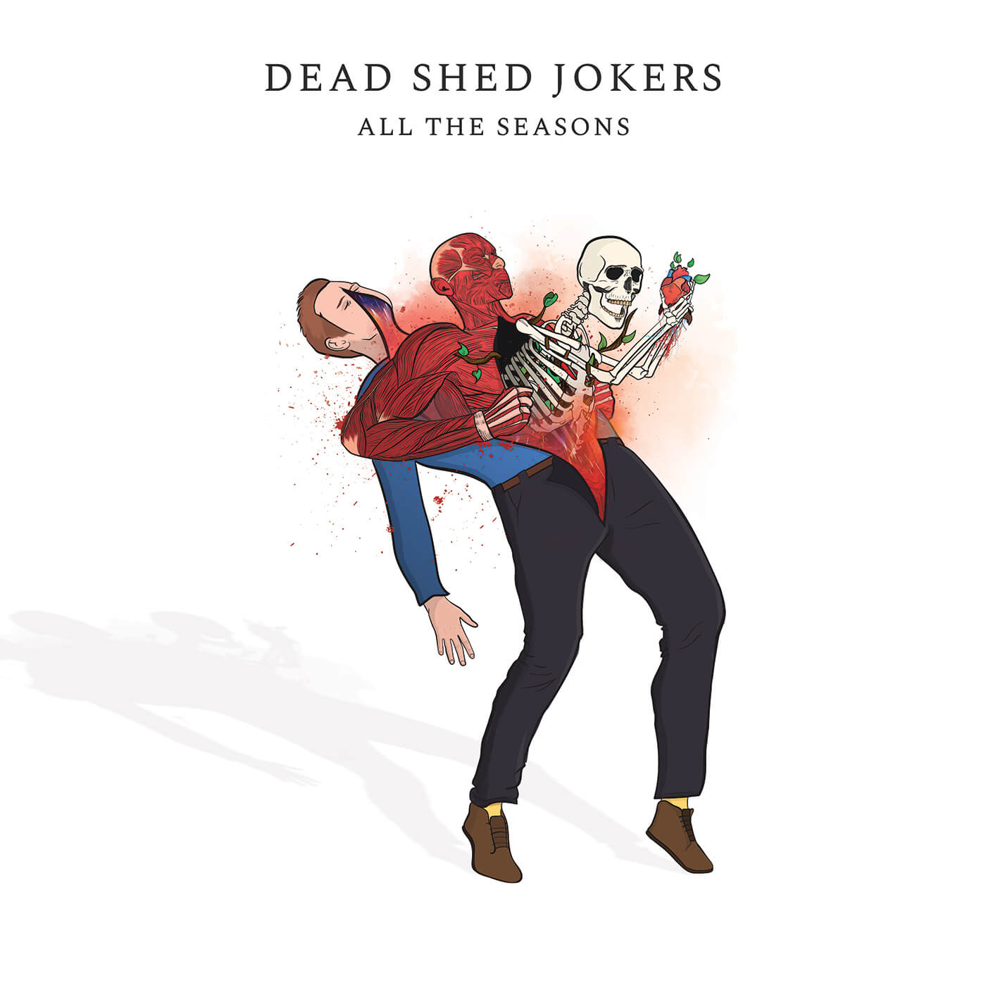 Dead Shed Jokers All The Seasons Album Cover