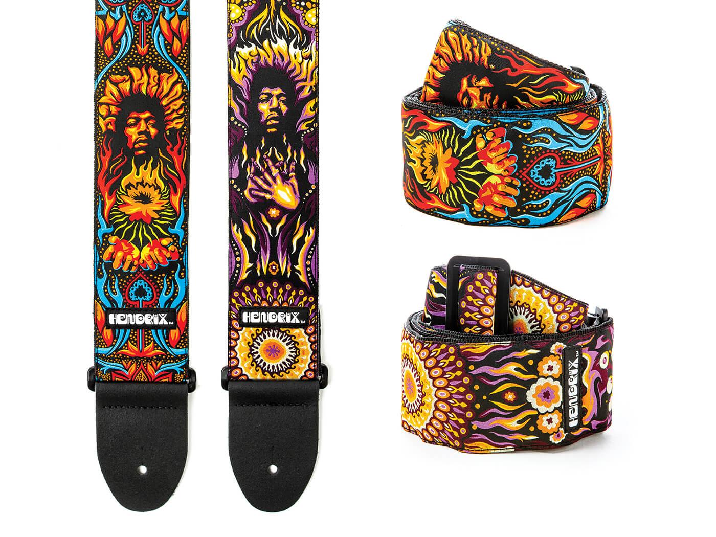 Authentic Hendrix 69 Pysch Straps
