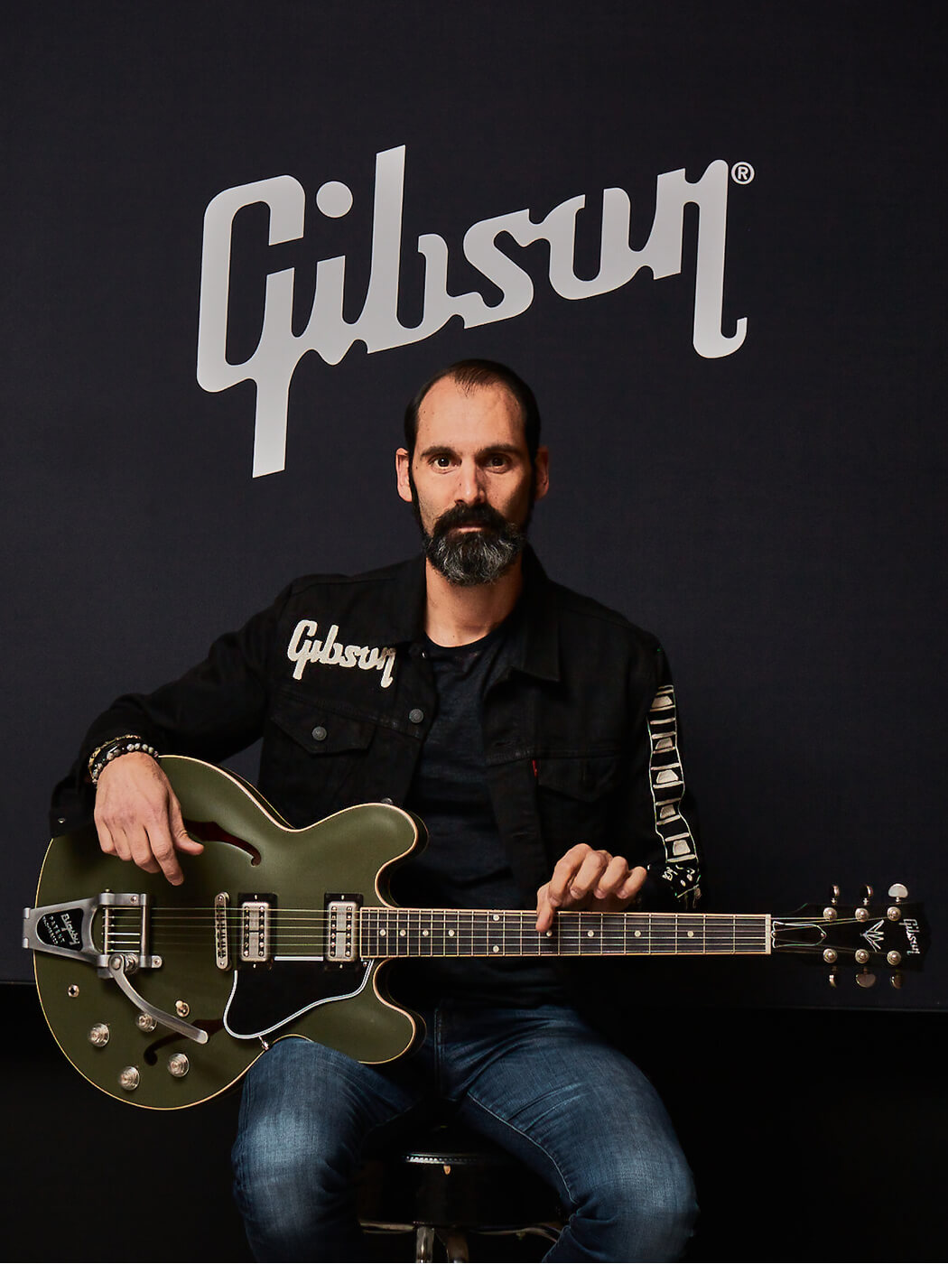 Cesar Gueikian (with Chris Cornell ES 335)