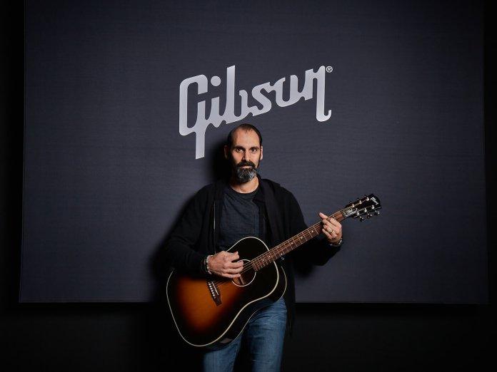 Cesar Gueikian (with Slash Collection J-45 November Burst)
