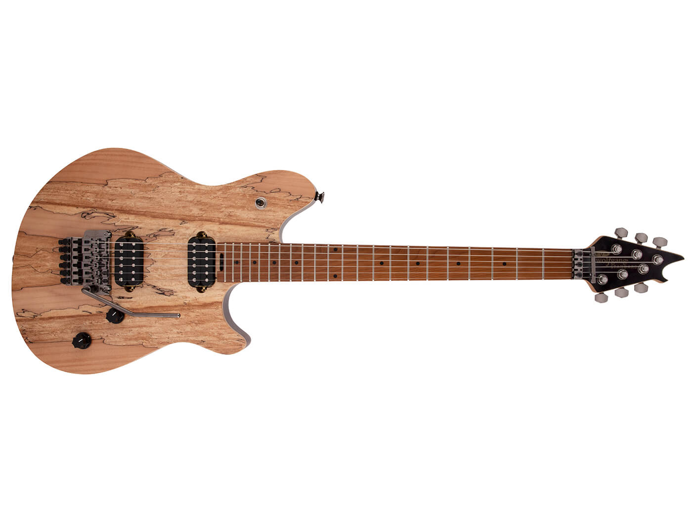 EVH Wolfgang Standard Exotic Spalted Maple Natural