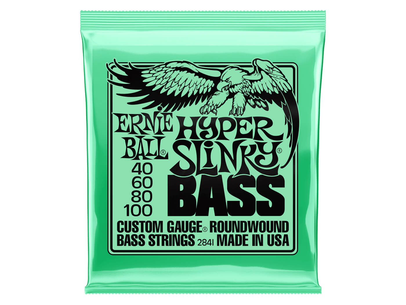 Ernie Ball Hyper Slinky Bass Nickel Wound Electric Bass Strings