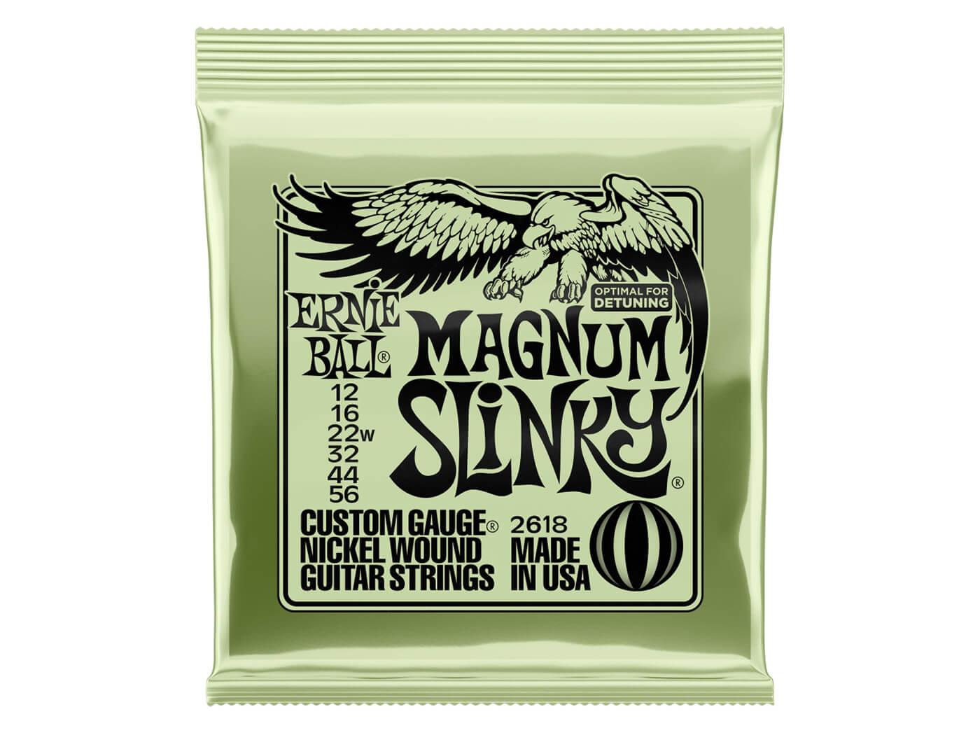 Ernie Ball Magnum Slinky Nickel Wound Electric Guitar Strings