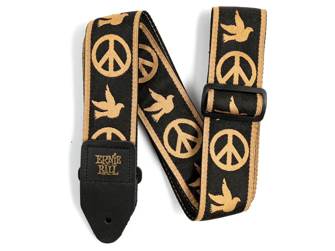 Ernie Ball Peace Love Dove Jacquard Strap