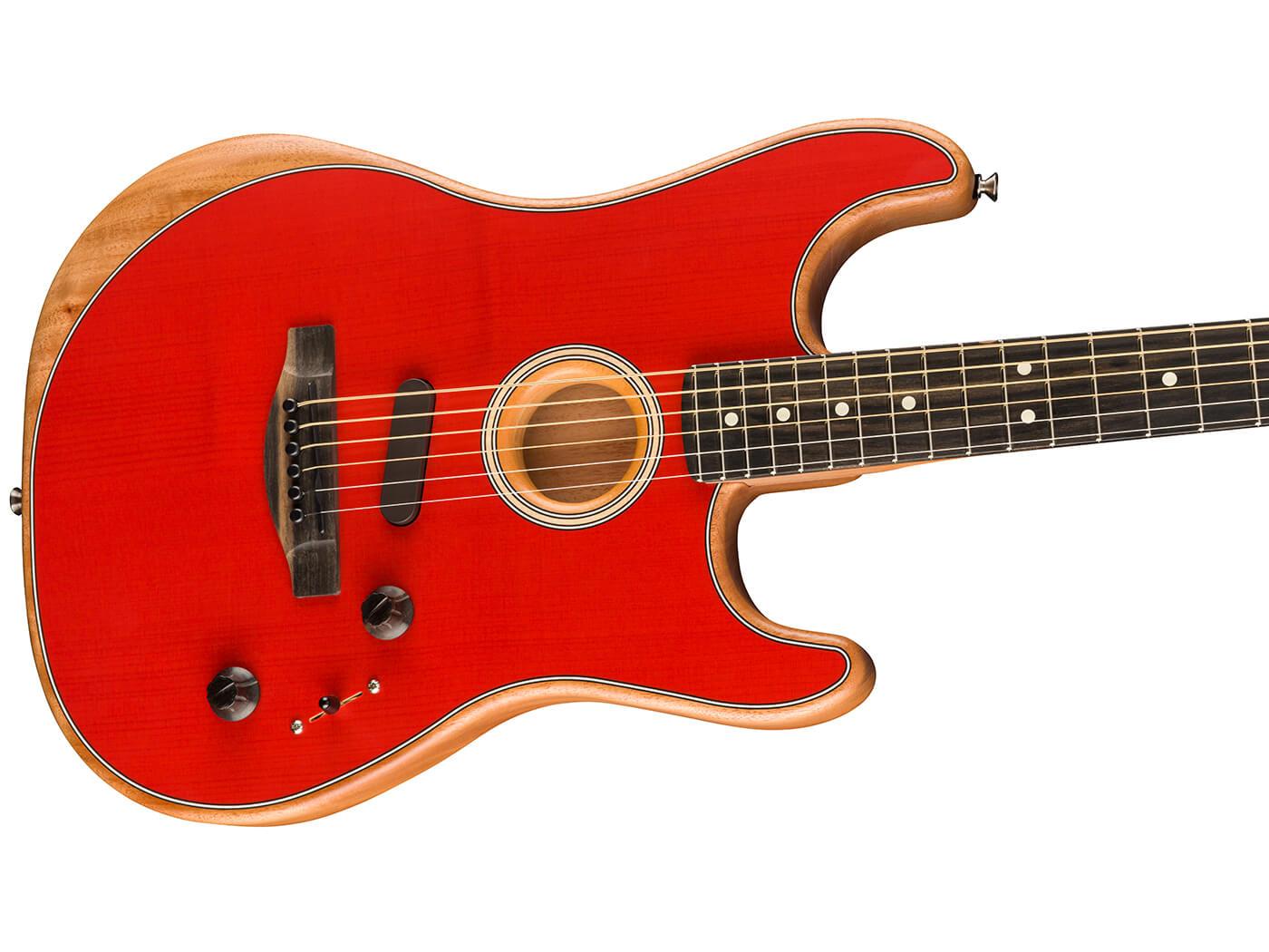 Fender Acoustasonic (Dakota Red)