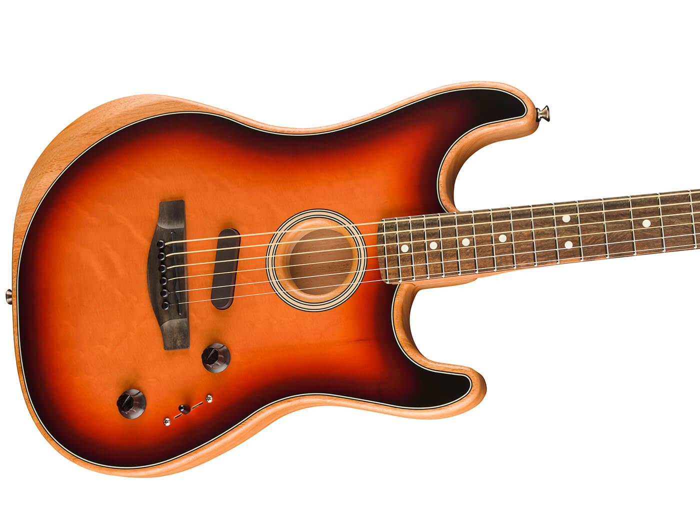 Fender Acoustasonic (3 Colour Sunburst)